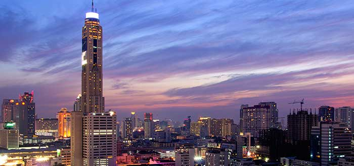 Qué ver en Bangkok | Torre Baiyoke II