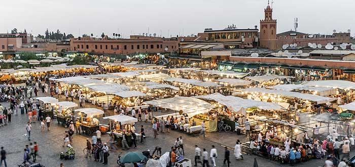 Qué ver en Marrakech | Plaza de Yamaa el Fna