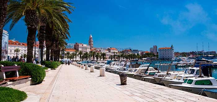 Qué ver en Split | Paseo Marítimo Riva