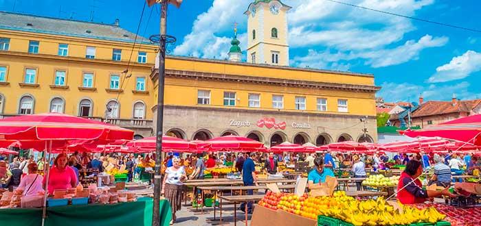 Qué ver en Zagreb | Mercado Dolac