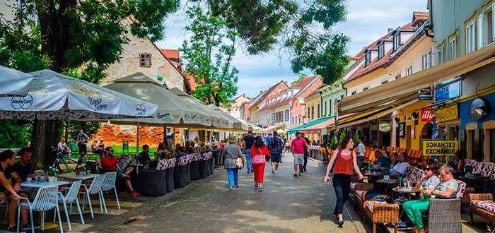 Qué ver en Zagreb | Calle Tkalcica