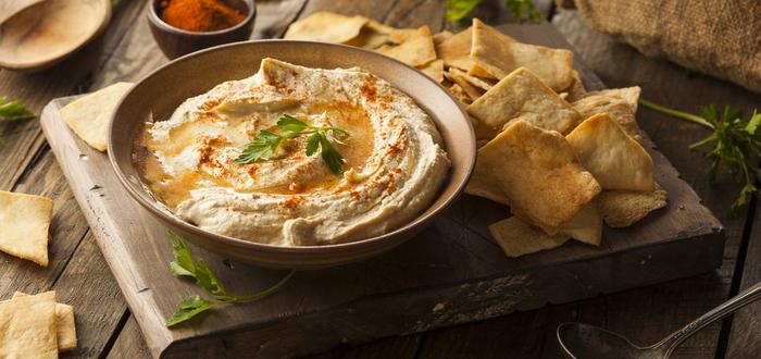 Comida típica de Arabia Saudí, Hummus