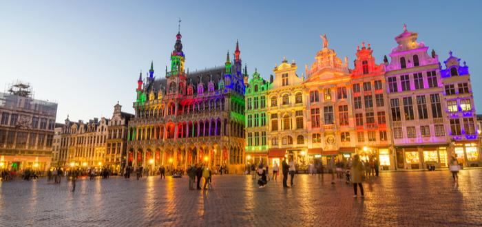 Qué ver en Bélgica. Grand Place