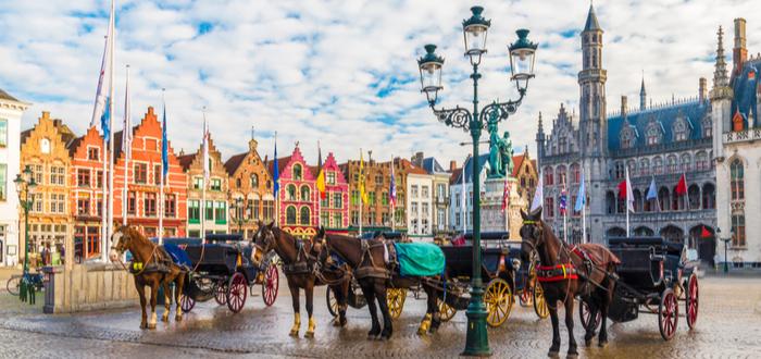 Qué ver en Bélgica. Grote Markt