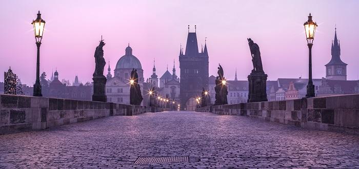 Qué ver en Praga   Puente Carlos