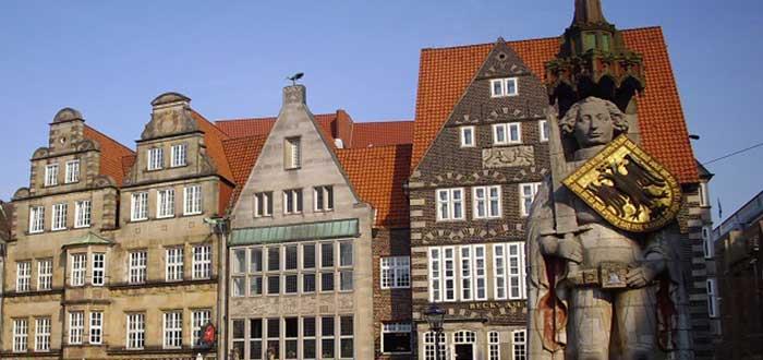 Qué ver en Bremen   Estatua de Rolando
