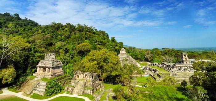 La zona arqueológica de Palenque