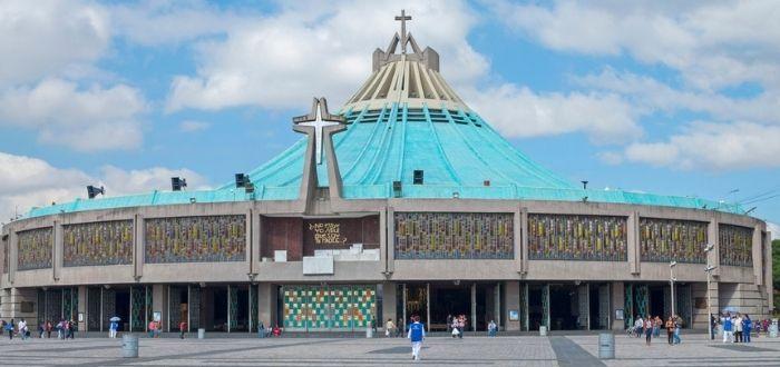 Basílica de Santa María de Guadalupe, en Ciudad de México