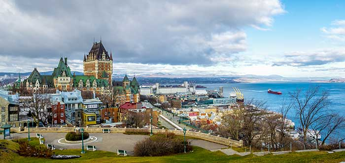 10 Ciudades de Canadá. Québec