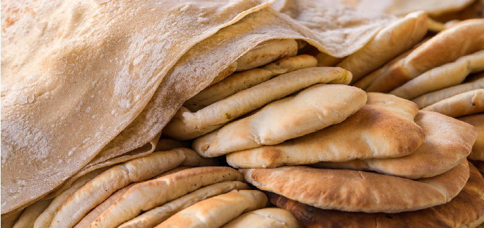 Comida típica de Arabia Saudí   Khubz