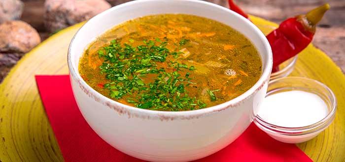 Comida típica de Belice | Sopa de Pollo