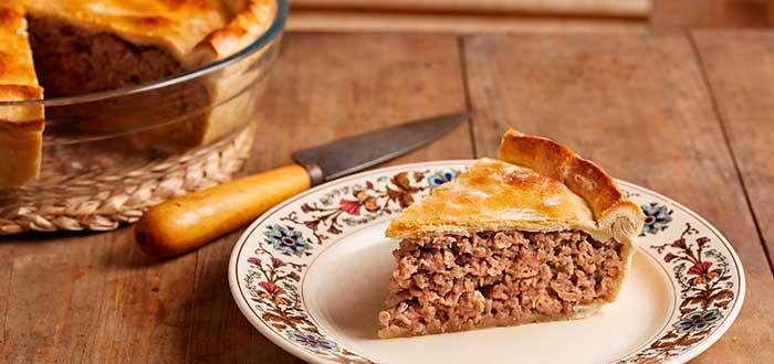 Comida típica de Canadá | Tourtière