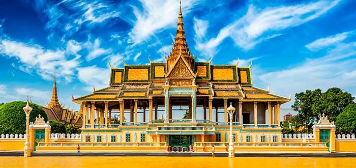 Qué ver en Camboya | Palacio real Nom Pen