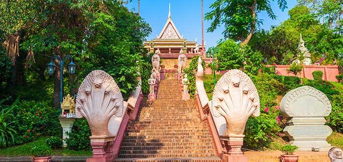 Qué ver en Camboya | Wat Phnom