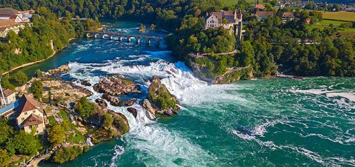 Qué ver en Suiza   Cataratas del Rin