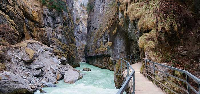 Qué ver en Suiza   Aare Gorge
