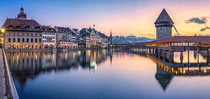 Qué ver en Suiza   Kapellbrücke
