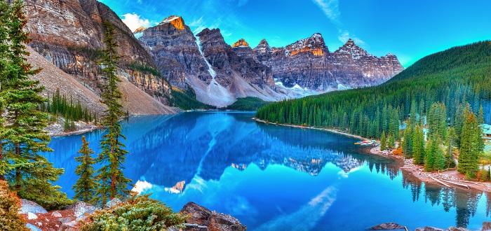 Qué ver en Canadá | Lago Moraine y Valle de los Diez Picos