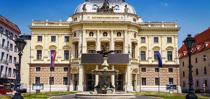 Qué ver en Bratislava | Teatro Nacional