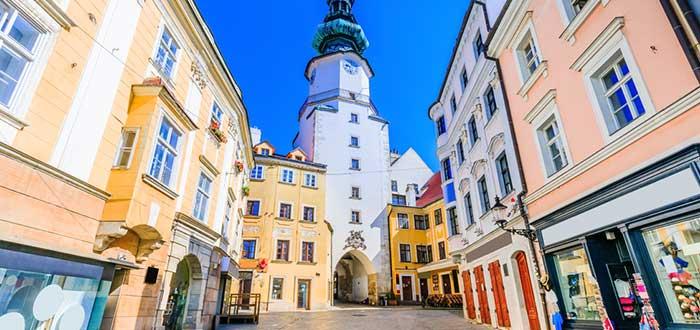 Qué ver en Bratislava | Puerta de San Miguel