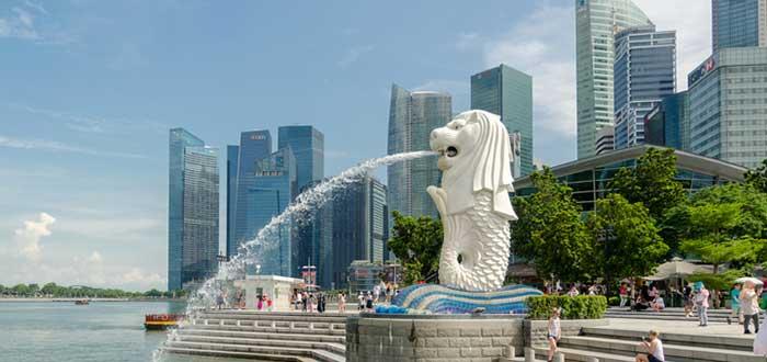 Qué ver en Singapur | Merlión