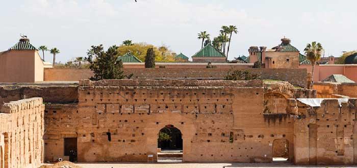 Las 3 puertas: Bab Sbâa, Bab Marrakech y Bab Doukhala