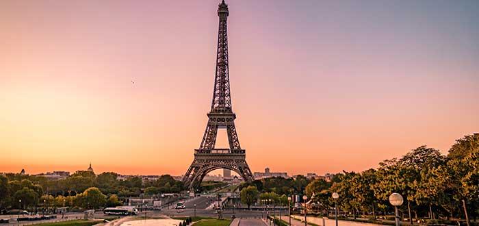 Ciudades más visitadas de Europa | París