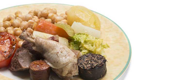 Comida Española. Cocido Madrileño