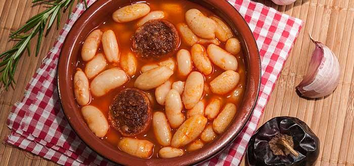 Comida Española. Fabade Asturiano