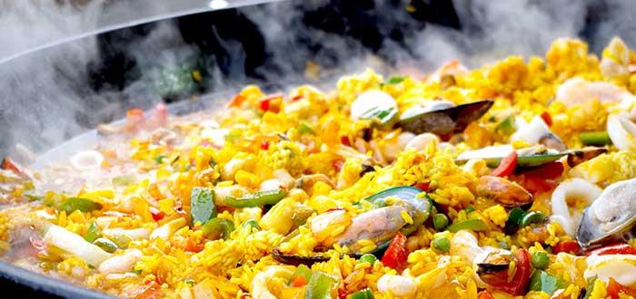 Comida Española. Paella