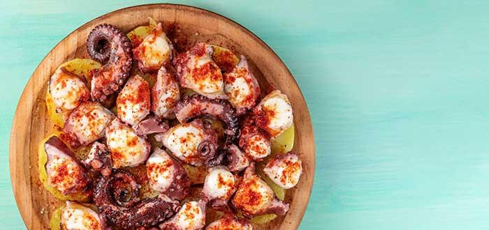 Comida Española. Pulpo a la gallega