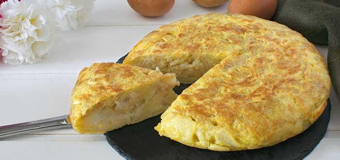 Comida Española. Tortilla de patatas