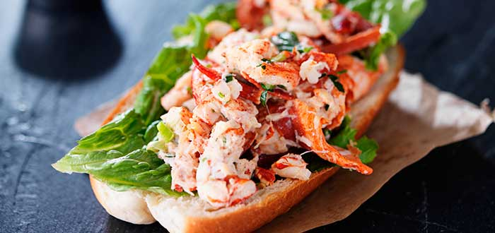 Comida típica de Estados Unidos | Lobster Roll