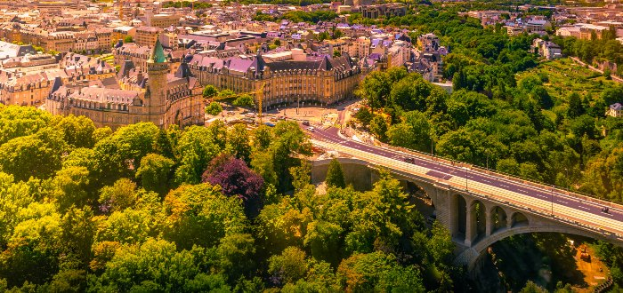 Qué ver en Luxemburgo | Puente Adolfo