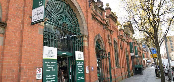 Qué ver en Belfast | Mercado de St. Grotgr