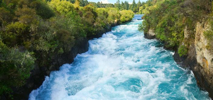 Qué ver en Nueva Zelanda | Cascadas de Huka