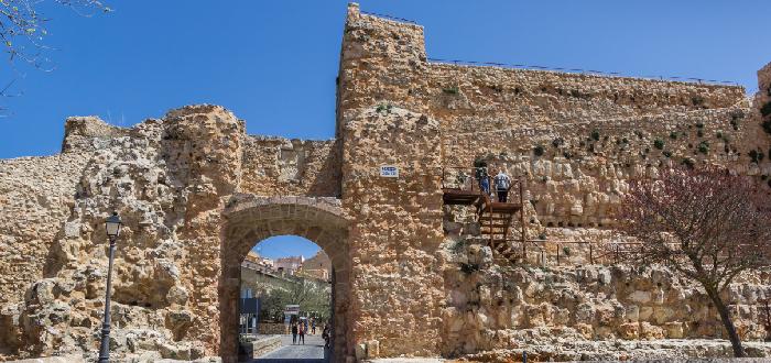 Qué ver en Cuenca Ruinas del Castillo de Cuenca