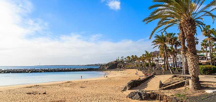 Qué ver en Lanzarote | Playa Flamingo