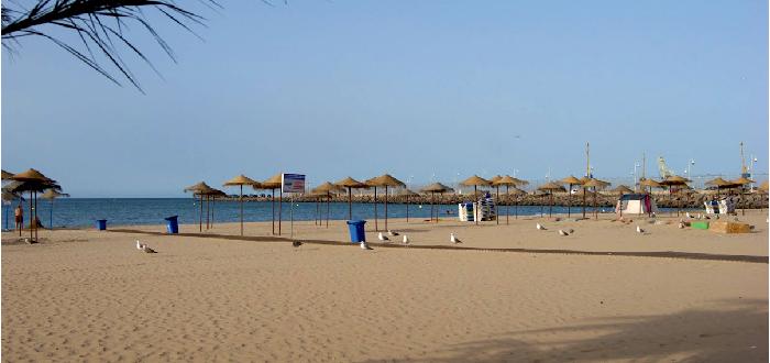 Qué ver en Melilla Playa de los Cárabos