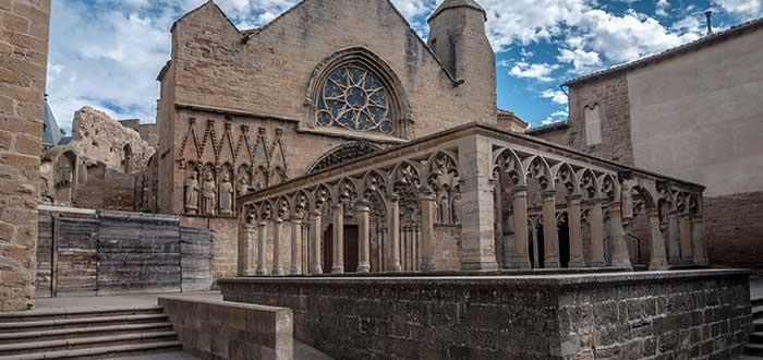 Qué ver en Olite | Iglesia de Santa María la Real