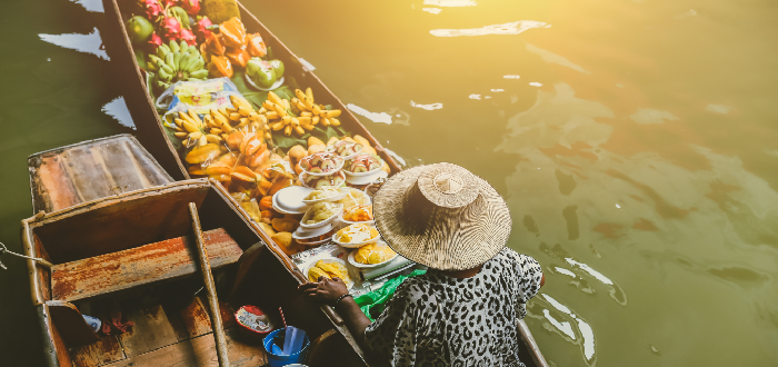 Qué ver en Tailandia | Damnoen Saduak Floating Market