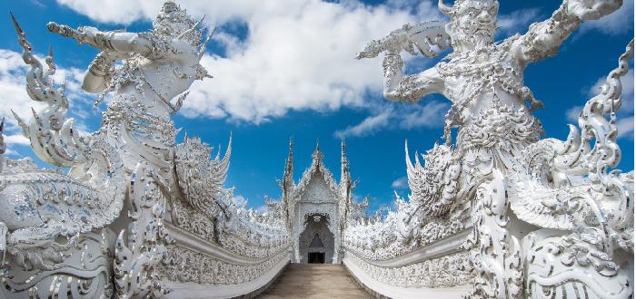 Qué ver en Tailandia | Wat Rong Khun