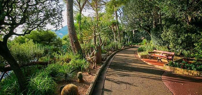 Qué ver en Mónaco | Jardines de San Martín
