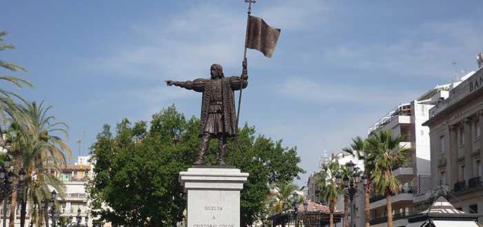 Qué ver en Huelva   Monumento a Colón