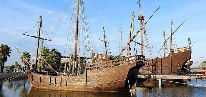 Qué ver en Huelva   Muelle de las Carabelas