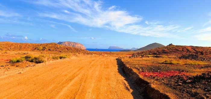 Qué ver en La Graciosa: Playa Montaña Amarilla