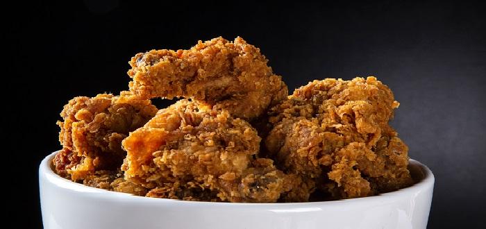 Comida típica de Estados Unidos | Pollo frito al estilo Kentucky