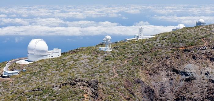 Qué ver en La Palma | Obsercatorio dle Roque de muchachos