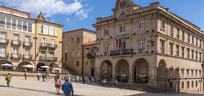 Qué ver en Ourense | Plaza mayor ourense