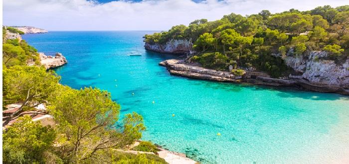 Qué ver en las Islas Baleares   Playa Cala llombards